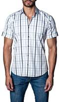 Jared Lang Men's Plaid Sport Shirt