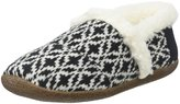 Toms Slipper (Women) - Black/White Fair Isle - 10