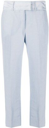 Gianfranco Ferré Pre-Owned 1990s Pleated Cropped Trousers