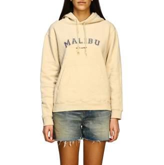 Saint Laurent Hoodie With Malibu Print