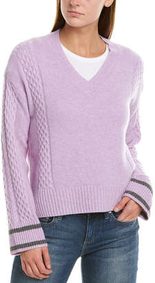 Design History V-Neck Cashmere Sweater