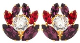 Dolce & Gabbana Crystal Embellished Clip-on Earrings