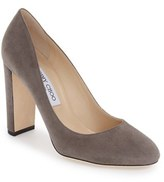Jimmy Choo Women's Laria Almond Toe Pump