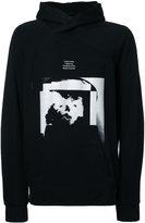 Julius printed hoodie