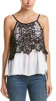 Do & Be DO+BE Do+be Sleeveless Lace Top.