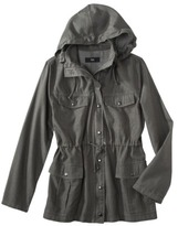 Mossimo Women's Hooded Jacket -Olive