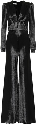 Philosophy di Lorenzo Serafini Hammered-satin jumpsuit