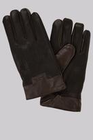 Ted Baker Black Leather Gloves
