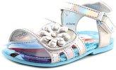 Disney Frozen Sandals Toddler US 10 Silver Slingback Sandal