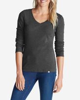 Eddie Bauer Women's Favorite Long-Sleeve V-Neck T-Shirt