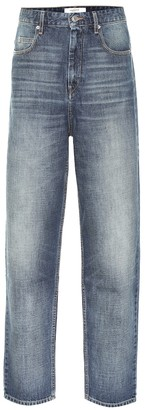Etoile Isabel Marant Corsyj high-rise carrot jeans