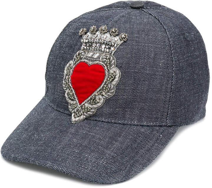Dolce & Gabbana embroidered hat