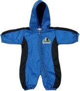 Mighty-Mac Mighty Mac Minnesota Timberwolves NBA Baby Boy 2 Piece Wind Suit, Slate Blue & Black (6-9 Months, )