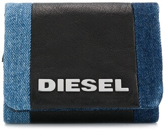 Diesel Denim Logo Purse