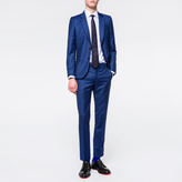 Paul Smith Men's Tailored-Fit Indigo Wool Suit