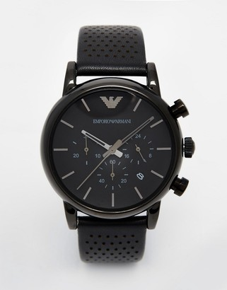 Emporio Armani AR1737 watch in black