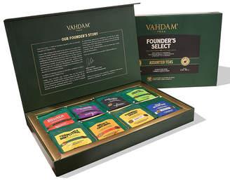 Vahdam Teas Assorted Tea Bags 40 Tea Bags Black Tea, Green Tea, Oolong Tea, White, Chai Tea, Herbal Tea