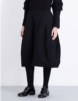 Comme des Garcons Structured wool skirt