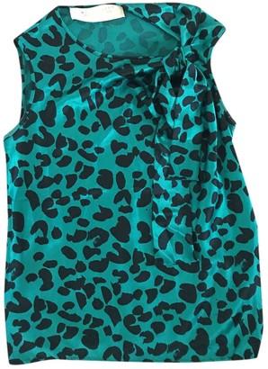 David Szeto Turquoise Silk Top for Women