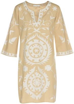 Ada Kamara Mini Suzanni Beige Dress