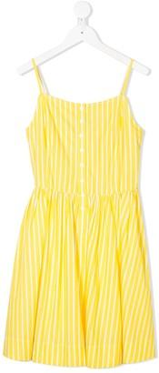 Ralph Lauren Kids Striped Button-Down Dress