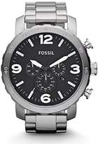 Fossil Men's Nate Quartz Stainless Steel Chronograph Watch