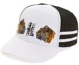 Topman Embroidered Tigers Baseball Cap