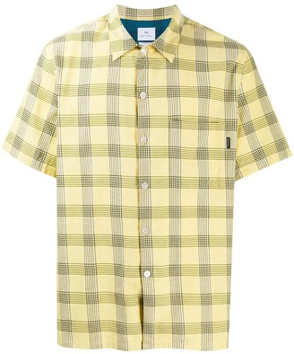 Paul Smith Checked Short Sleeve Buttoned Shirt