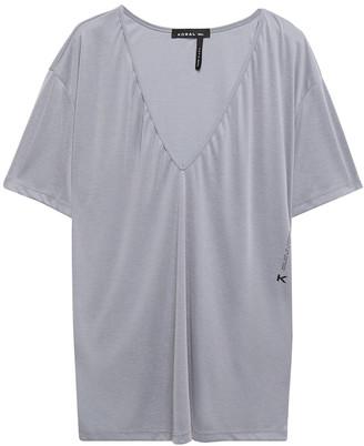 Koral Secure Marlow Ribbed Modal-blend T-shirt