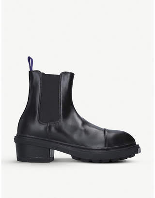 Eytys Nikita leather Chelsea boots