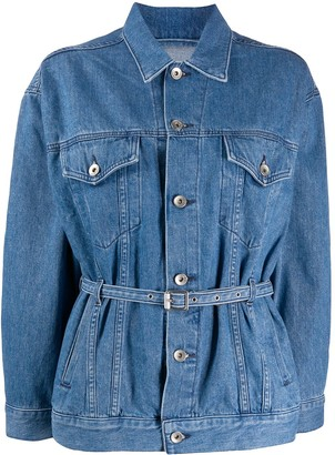 Rag & Bone Belted Denim Jacket