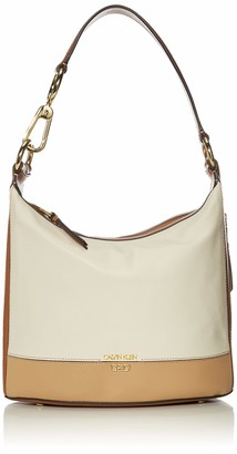 Calvin Klein Sophia Micro Pebble Leather Hobo Shoulder Bag