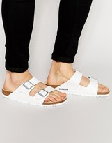 Birkenstock Arizona Sandals In White