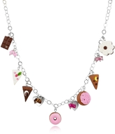 Dolci Gioie Sterling Silver Charm Necklace