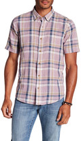 Tailor Vintage Short Sleeve Desert Plaid Shirt