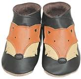Starchild shoes Boys And Girls Soft Leather Baby Shoes Foxy Chocolate