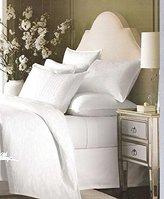Martha Stewart Colette Cotton Jacquard Coverlet White Full/Queen