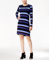 Kensie Striped T-Shirt Dress