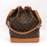 Louis Vuitton very good (VG Brown Monogram Canvas Noe Shoulder Bag
