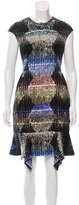 Peter Pilotto Digital Print Silk Dress w/ Tags