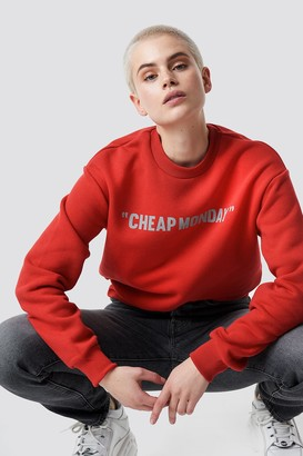 Cheap Monday Get Sweat Cheap Review Red