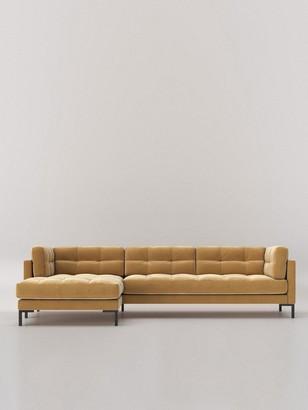 Swoon Landau Fabric Left Hand Corner Sofa