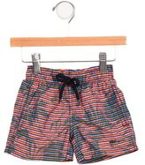 Vilebrequin Boys' Striped Swim Trunks