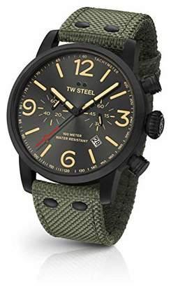 TW Steel Maverick Stainless Steel Quartz Watch with Nylon Strap