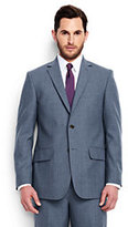 Lands' End Men's Traditional Fit Wool Year'rounder Suit Jacket-Classic Navy