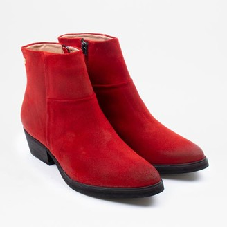 Sneaky Steve Dashed Suede Red - 37