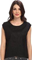 Townsen Women's Noir S/S Top Black T-Shirt