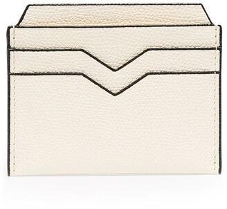 Valextra Leather Card Holder