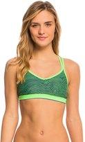 Nike Women's Flow Crossback Sport Bra Bikini Top 8135848