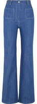 Paul & Joe Erania High-Rise Straight-Leg Jeans